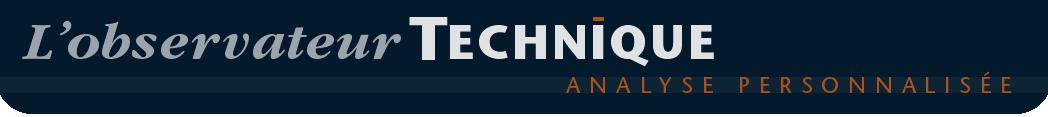 Analyse personnalisée - L'Observateur Technique, analyse des marchés boursiers
