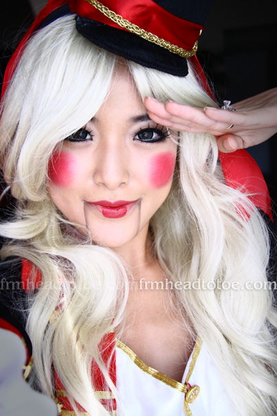 Toy Soldier Halloween Tutorial From Head To Toe