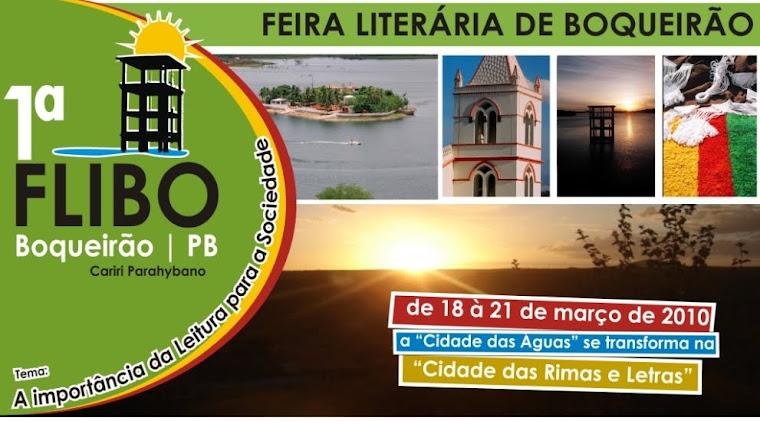 1ª FEIRA LITERÁRIA DE BOQUEIRÃO