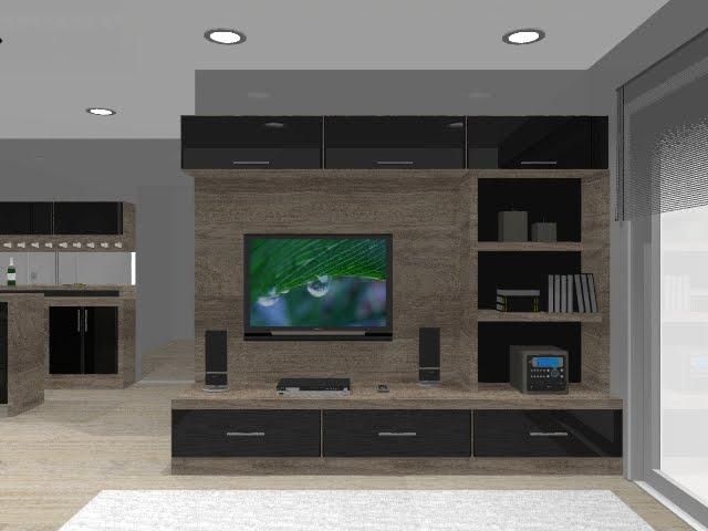 Sala De Estar Home ~ Studio Prime Projeto de interiores em 3d
