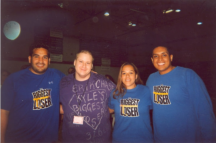 Myself, Sione and Felipe Fa from season 7, Dina Mercado from season 8