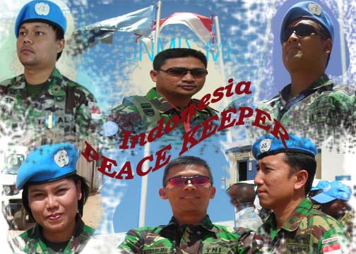 INDONESIA peace keeper in Darfur