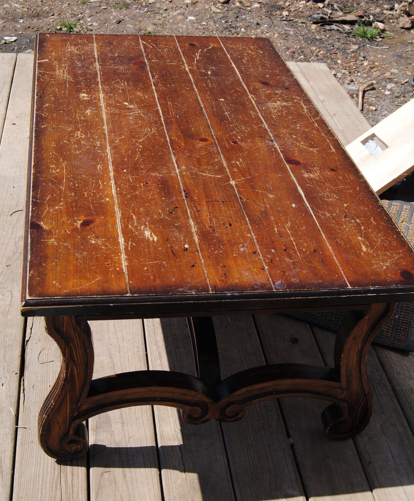 Refinishing Coffee Table Ideas Photograph Cottage Dreamers