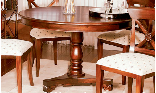 Decoración. tendencias en estilo clásico: mesas redondas para ...