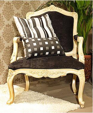 Decoraci n tendencias en estilo cl sico dos sillones - Sillones de epoca ...