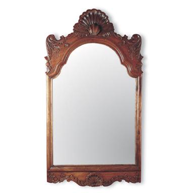 Kr c mo dar luz extra a un dormitorio espejos con marco for Espejo rectangular con marco de madera