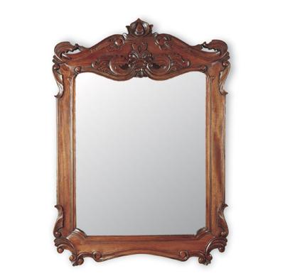 Kr c mo dar luz extra a un dormitorio espejos con marco for Espejos redondos con marco de madera