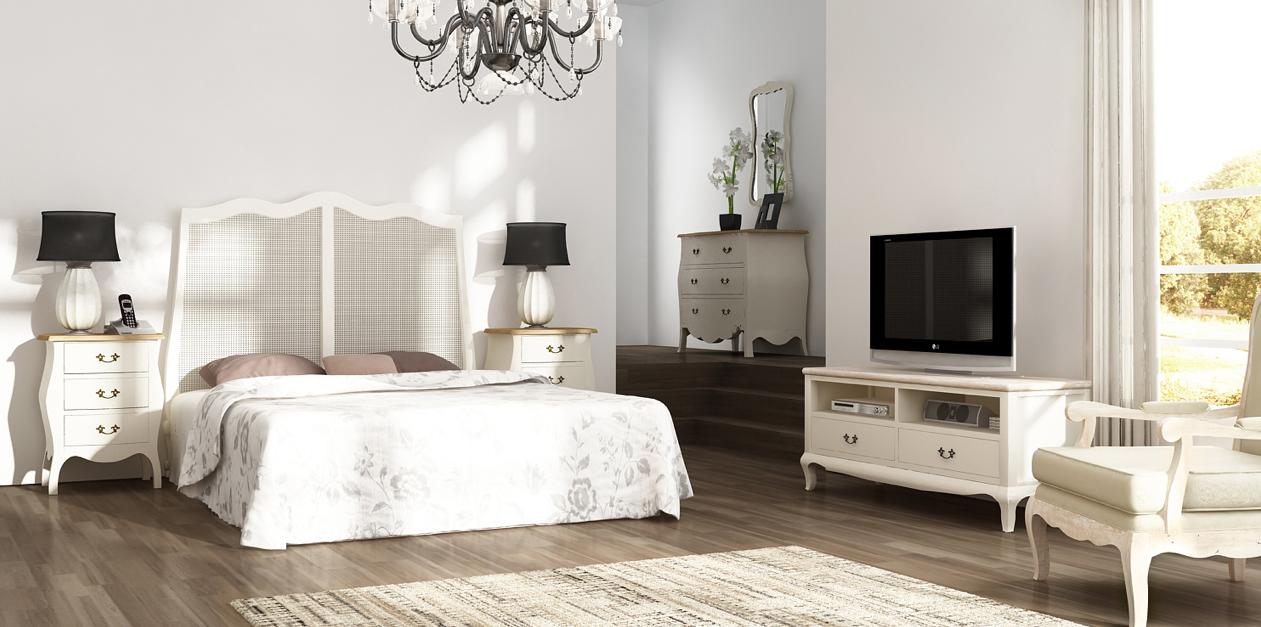 Decoraci n tendencias en estilo cl sico mueble para - Television dormitorio ...