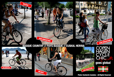 Copenhagen Cycle Chic Goes Global - Guest photos from Basque Country