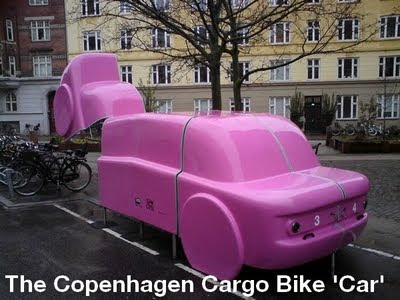 Copenhagen Cargo Bike Car Parking