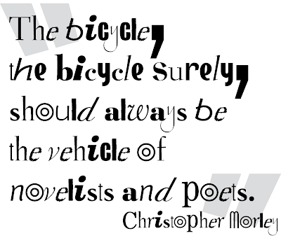 Bicycle Philosophy - Vehicle of Poets