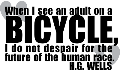Bicycle Philosophy Quote T-Shirt