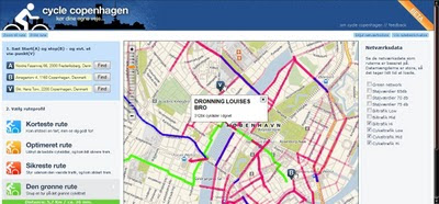Cycle Copenhagen Cykel ruteplanlægger Route Planner