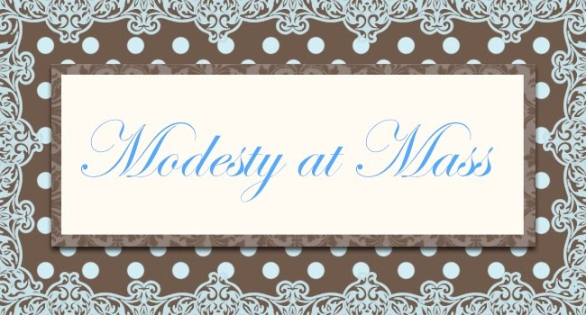Modesty at Mass