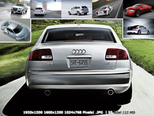Audi cars pictures - 2011 new