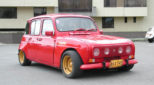 Renault 4 modified great vintage car