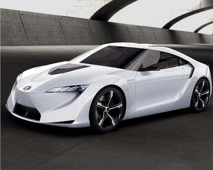 toyota supra hybride concept wallpaper