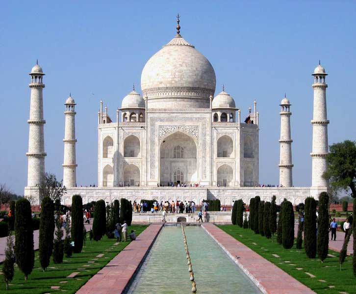 taj mahal agra india wallpaper