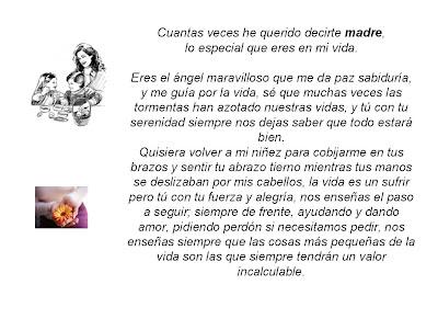 Carta De MI Madre
