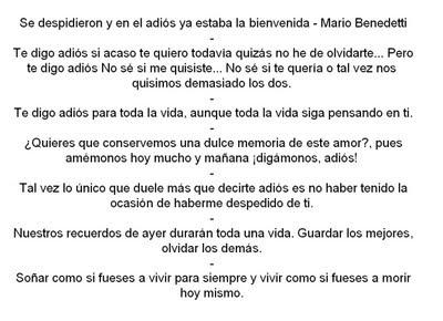 Mensajes de despedida a un amigo - Literato.es