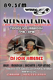 SERENATA LATINA CON JOSE JIMENEZ ESTE Y TODOS LOS SABADOS DE 7-10PM POR 89.3PM ATLANTA WWW.WRFG.ORG