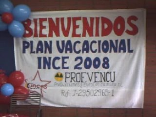 PLAN VACACIONAL INCES 2008-CUMANA