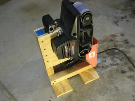 makita belt sander 9924db manual