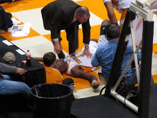 Wayne Chism on the Floor