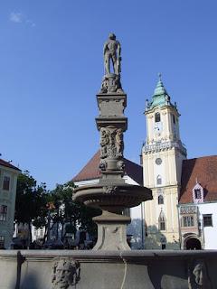 Rolandova fontana Bratislava