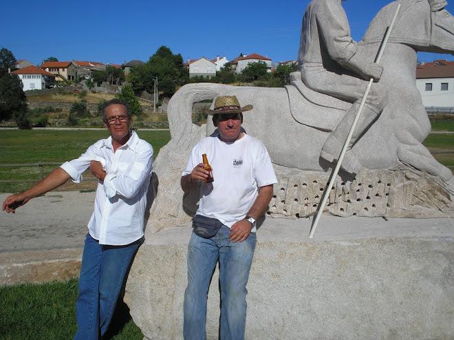 Eugénio Macedo e António Pissarra,depois de muito sofrimento,valeu tá feito.