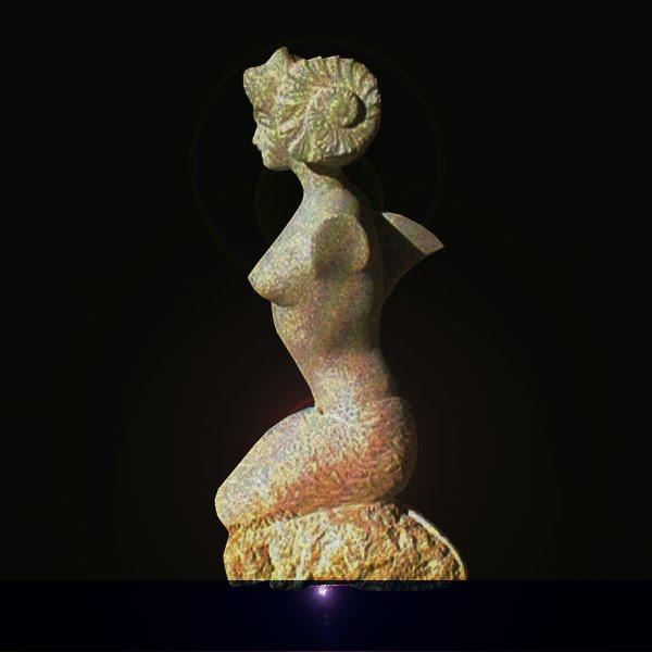Escultura em granito 1.50 cm de altura