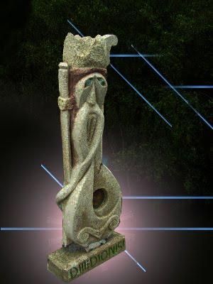 D.Dionisi escultura em granito