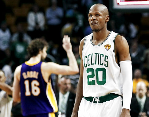 ray allen 2010. Beantown Banter: June 2010