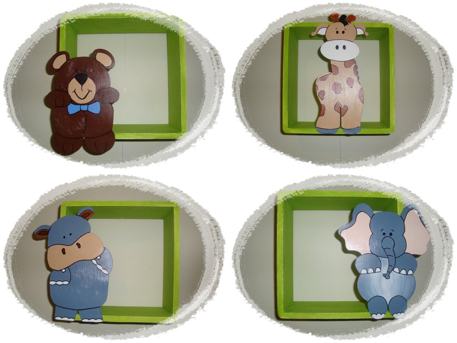 Artesanatos Bia Morena Nichos para quarto de bebê