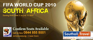 Flights Offers - FIFA Worldcup 2010