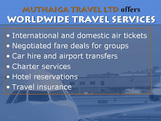 Muthaiga travel ltd for Waldo s world wide travel service