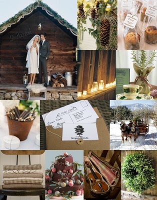 A Winter Wedding Wonderland While warmer seasons are statistically more