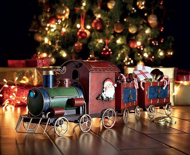 Новый год в новогоднем поезде