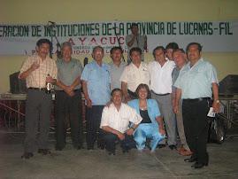 Dirigentes de la FIL