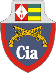 BRASÃO ANTIGO - 2ª CIA PE - SÃO PAULO.