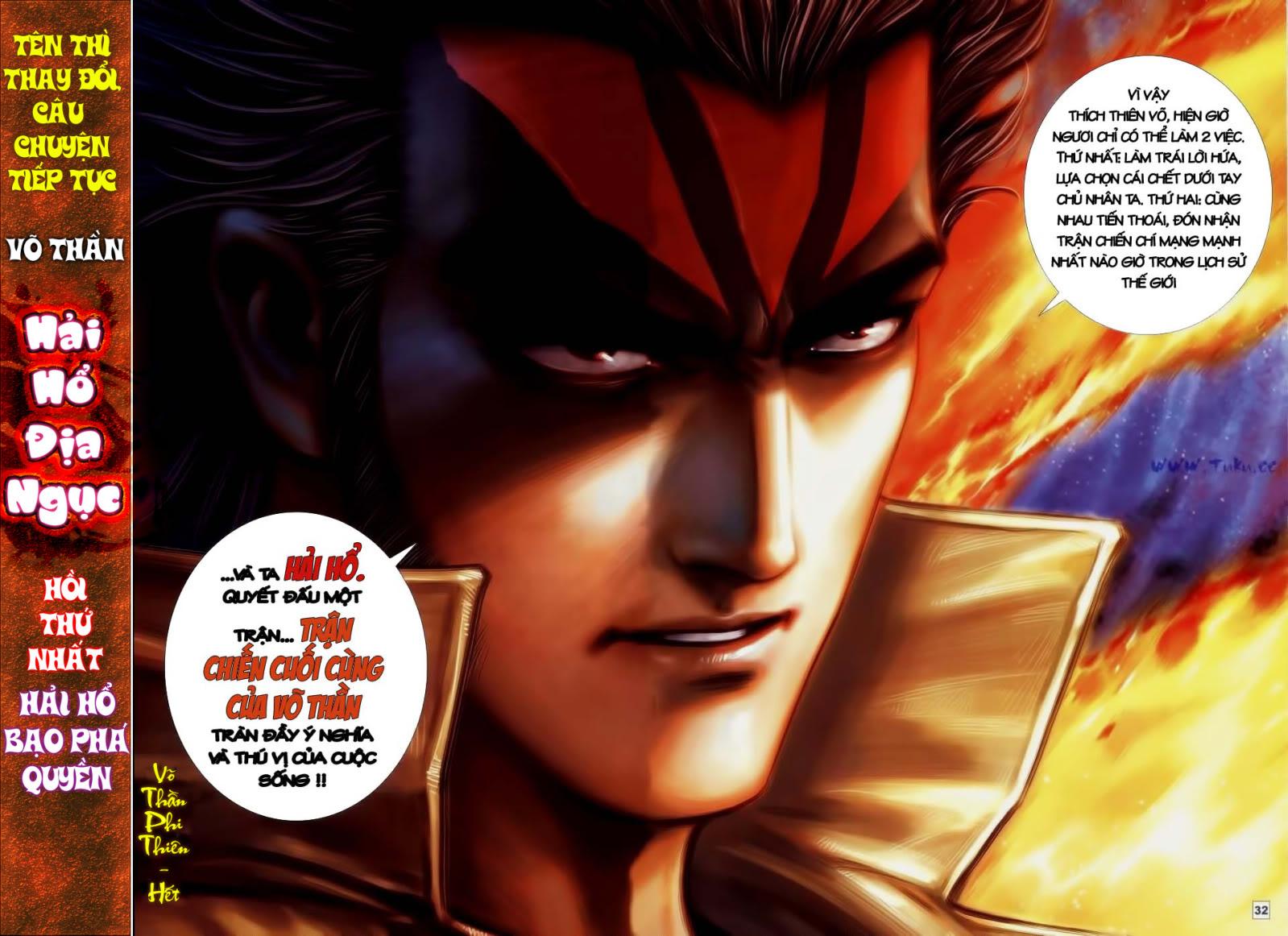 Võ Thần Phi Thiên Chap 60 - Next Chap 61