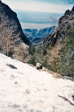 On the La Luz Trail in NM