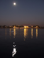 Moon over the Nile