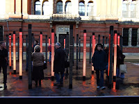 V&A light show