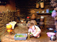 A Berber kitchen