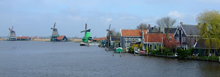 Zaanse Schans from the river