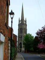 Louth's church steeple