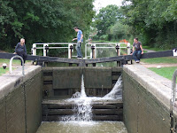Leaky lock gates
