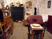Inside a sassi dwelling