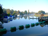 Early morning on the River Nene